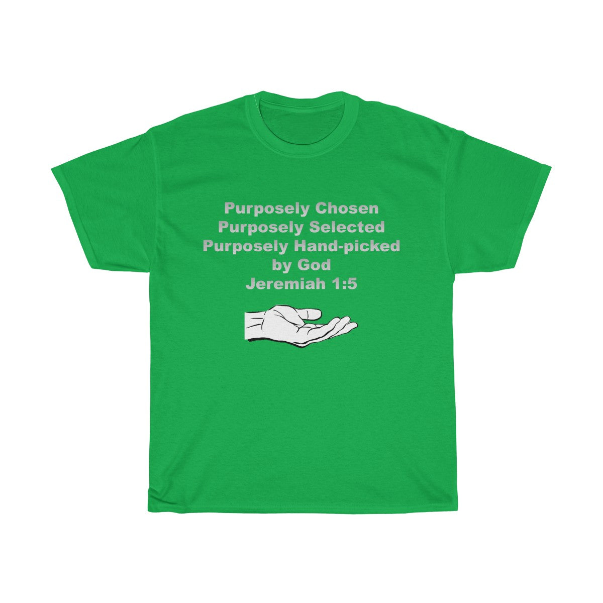 Purposely Chosen Jeremiah 1:5 Unisex Heavy Cotton Tee
