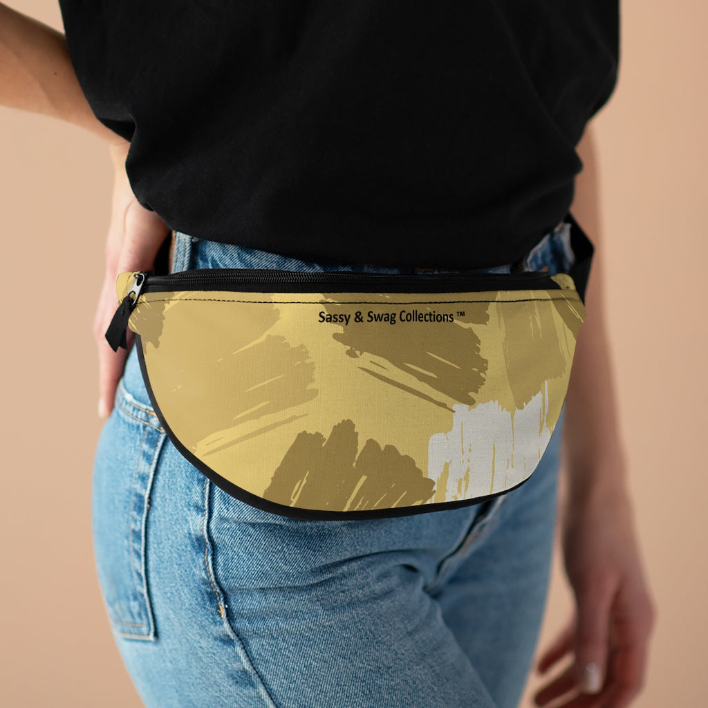 Brown Patches Fanny Pack