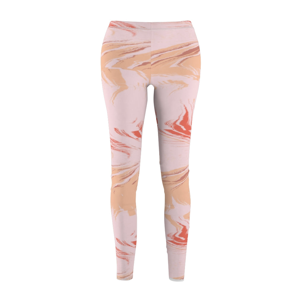 Multi-color Peach Women's Casual Leggings