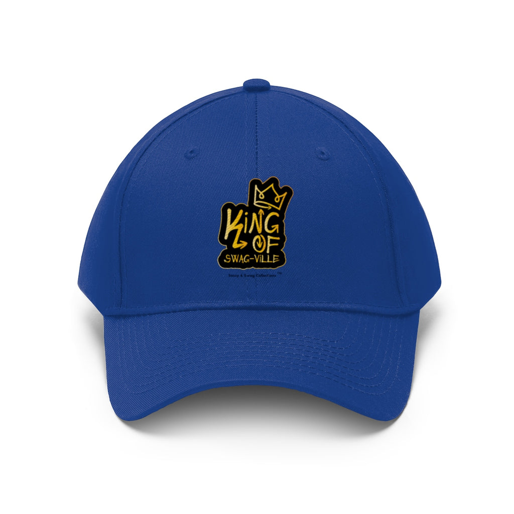 Sassy & Swag Collections - King of Swag-ville Men's Twill Hat