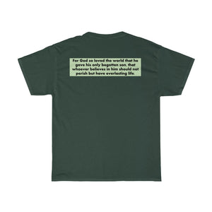 Sassy & Swag Collections - John 3:16 Unisex Heavy Cotton Tee
