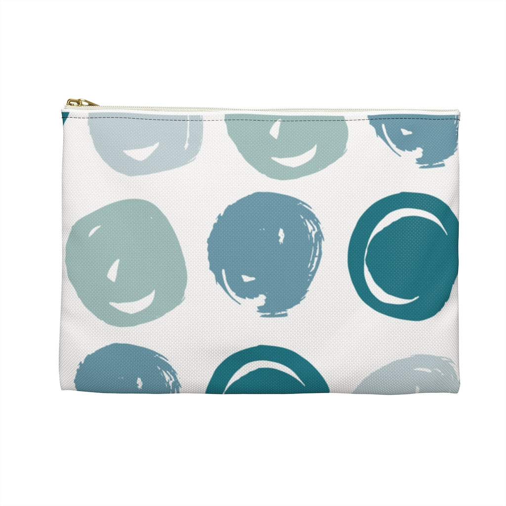 Sassy & Swag Collections Accessory Pouch - Bluish