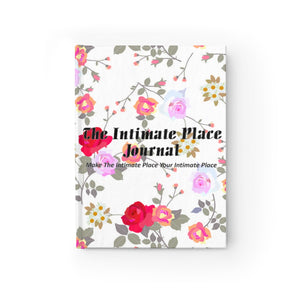 The Intimate Place Floral Journal - Ruled Line