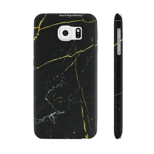 Sassy & Swag Collections Black Design Case Mate Slim Phone Cases