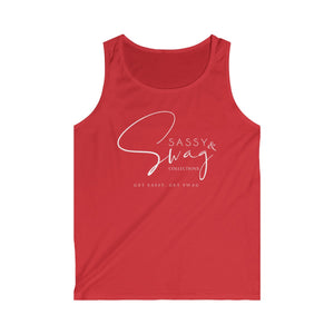 Sassy & Swag Collections Men's Softstyle Tank Top