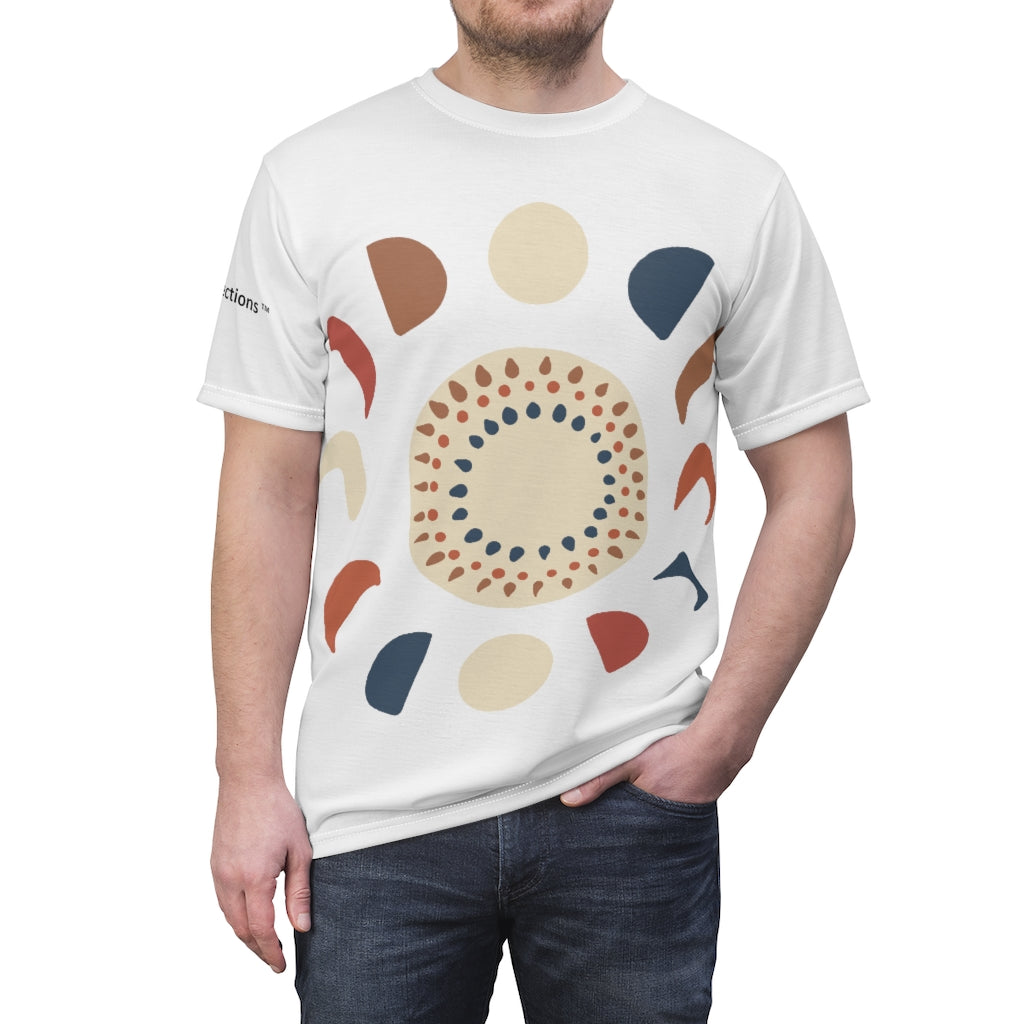 Men's Multi-shapes Design Tee