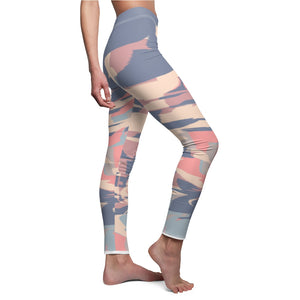 Multi-color Purple Women's Casual Leggings
