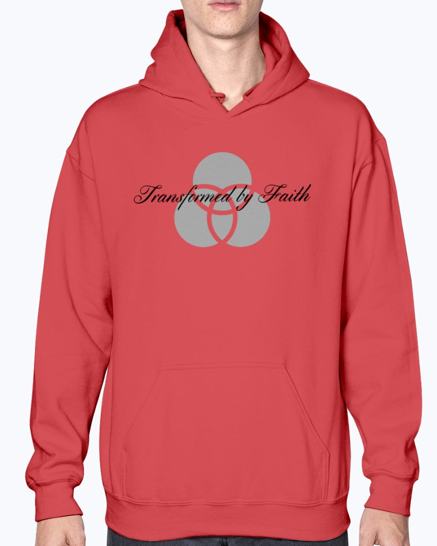 Transformed by Faith Gildan Unisex 50/50 Hoodie