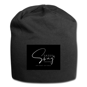 Sassy & Swag Collections Jersey Beanie - black
