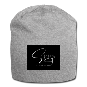 Sassy & Swag Collections Jersey Beanie - heather gray