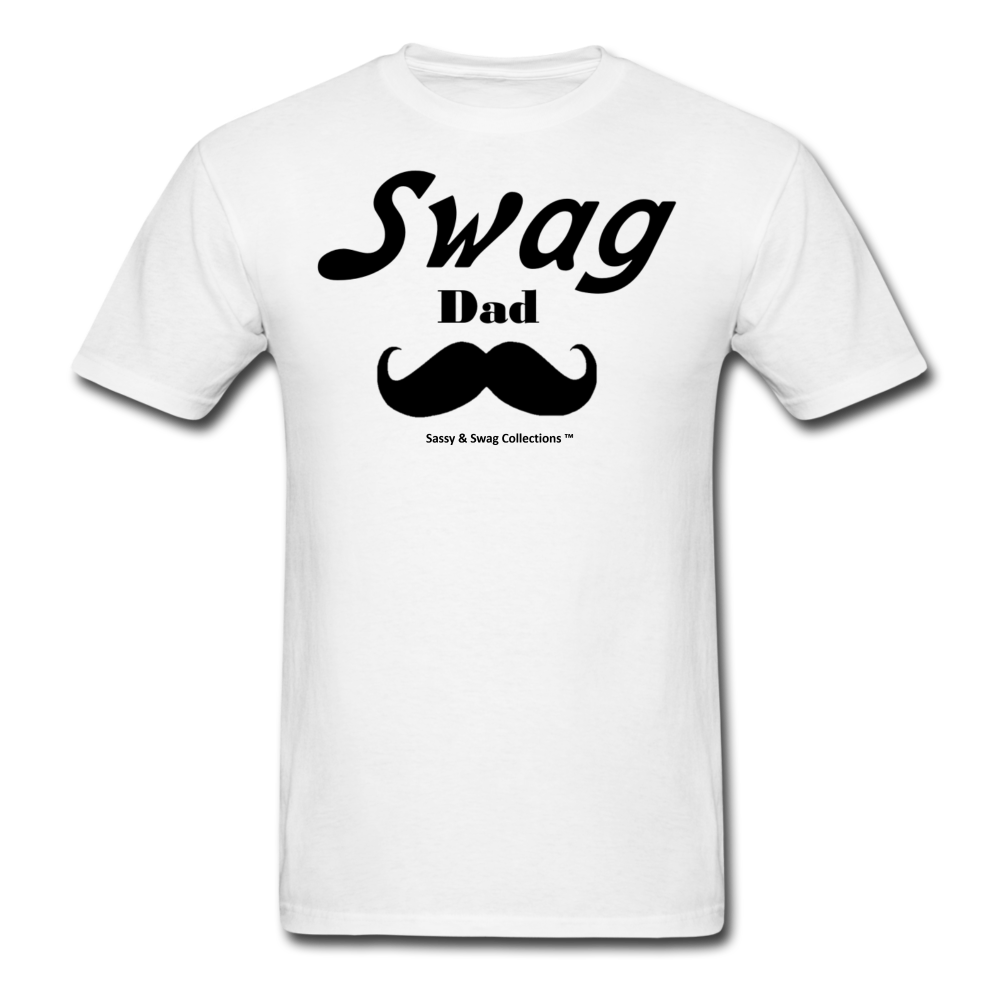 Swag Dad Men's T-Shirt - white