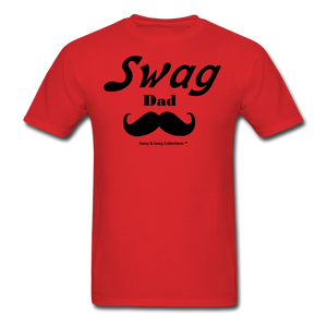 Swag Dad Men's T-Shirt - red