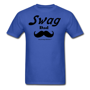 Swag Dad Men's T-Shirt - royal blue