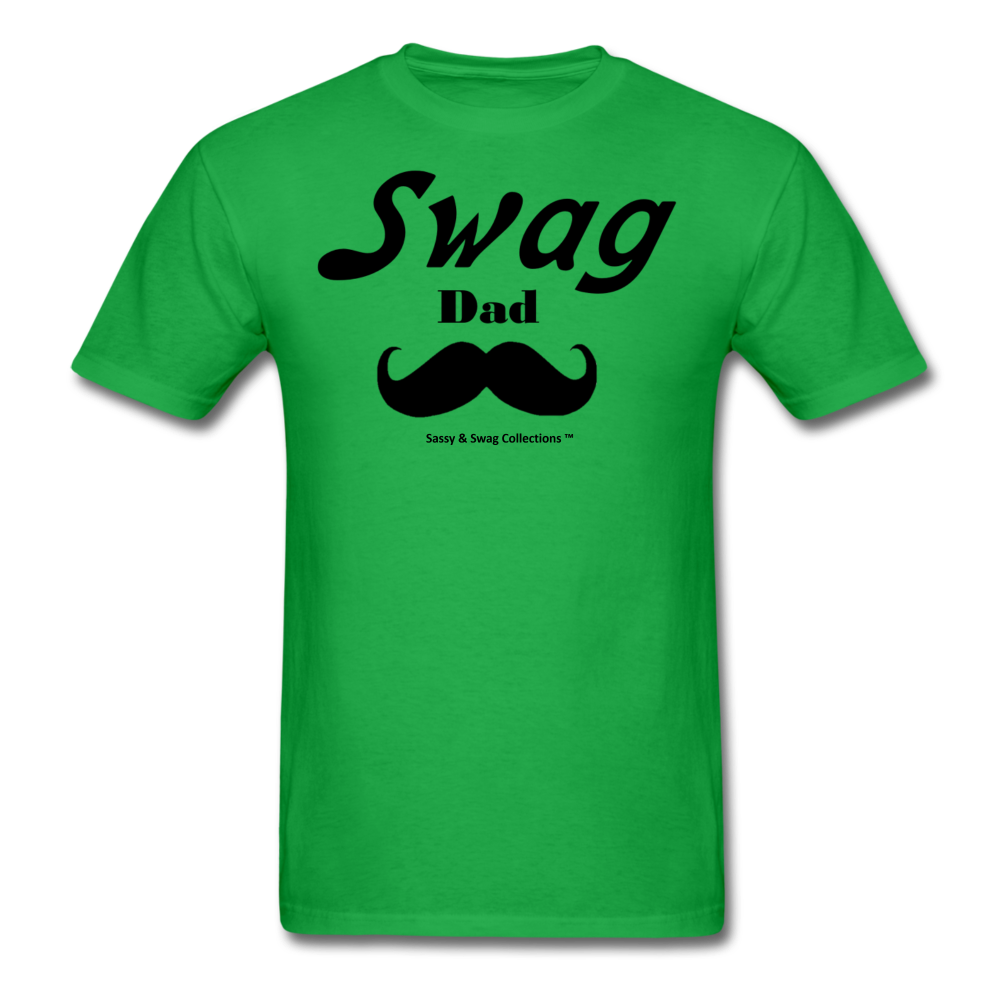 Swag Dad Men's T-Shirt - bright green