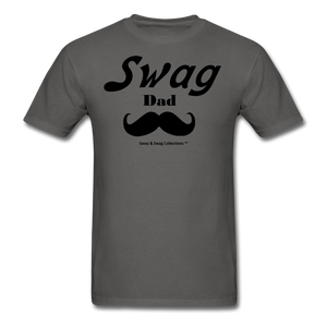 Swag Dad Men's T-Shirt - charcoal
