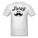 Swag Dad Men's T-Shirt - light heather gray