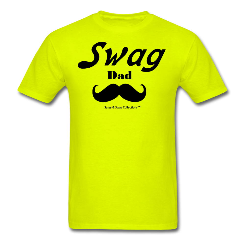 Swag Dad Men's T-Shirt - safety green
