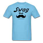 Swag Dad Men's T-Shirt - aquatic blue