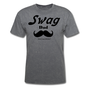 Swag Dad Men's T-Shirt - mineral charcoal gray