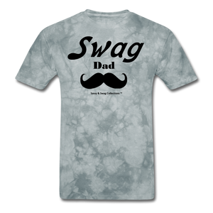 Swag Dad Men's T-Shirt - grey tie dye