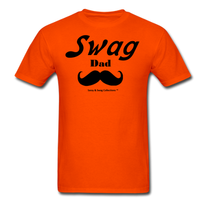Swag Dad Men's T-Shirt - orange