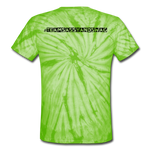 I Love My Queen Tie Dye T-Shirt - spider lime green