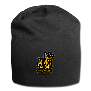 King of Swag-ville Jersey Beanie - black
