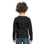 Boom Lightning Bolt Kids' Premium Long Sleeve T-Shirt - black