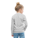Ninja Kids' Premium Long Sleeve T-Shirt - heather gray