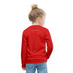 Ninja Kids' Premium Long Sleeve T-Shirt - red