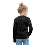 Ninja Kids' Premium Long Sleeve T-Shirt - charcoal gray