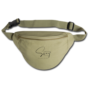 Sassy & Swag Collections Fanny Pack - khaki