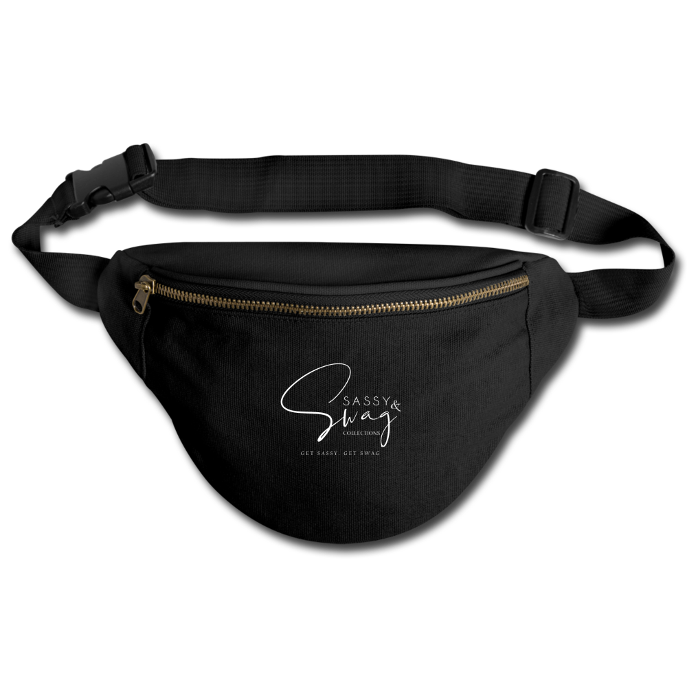 Sassy & Swag Collections Fanny Pack - black