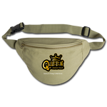 Queen of Sassy-ville Fanny Pack - khaki