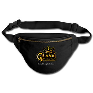 Queen of Sassy-ville Fanny Pack - black