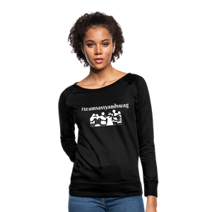 #teamsassyandswag Women's Crewneck Sweatshirt - black