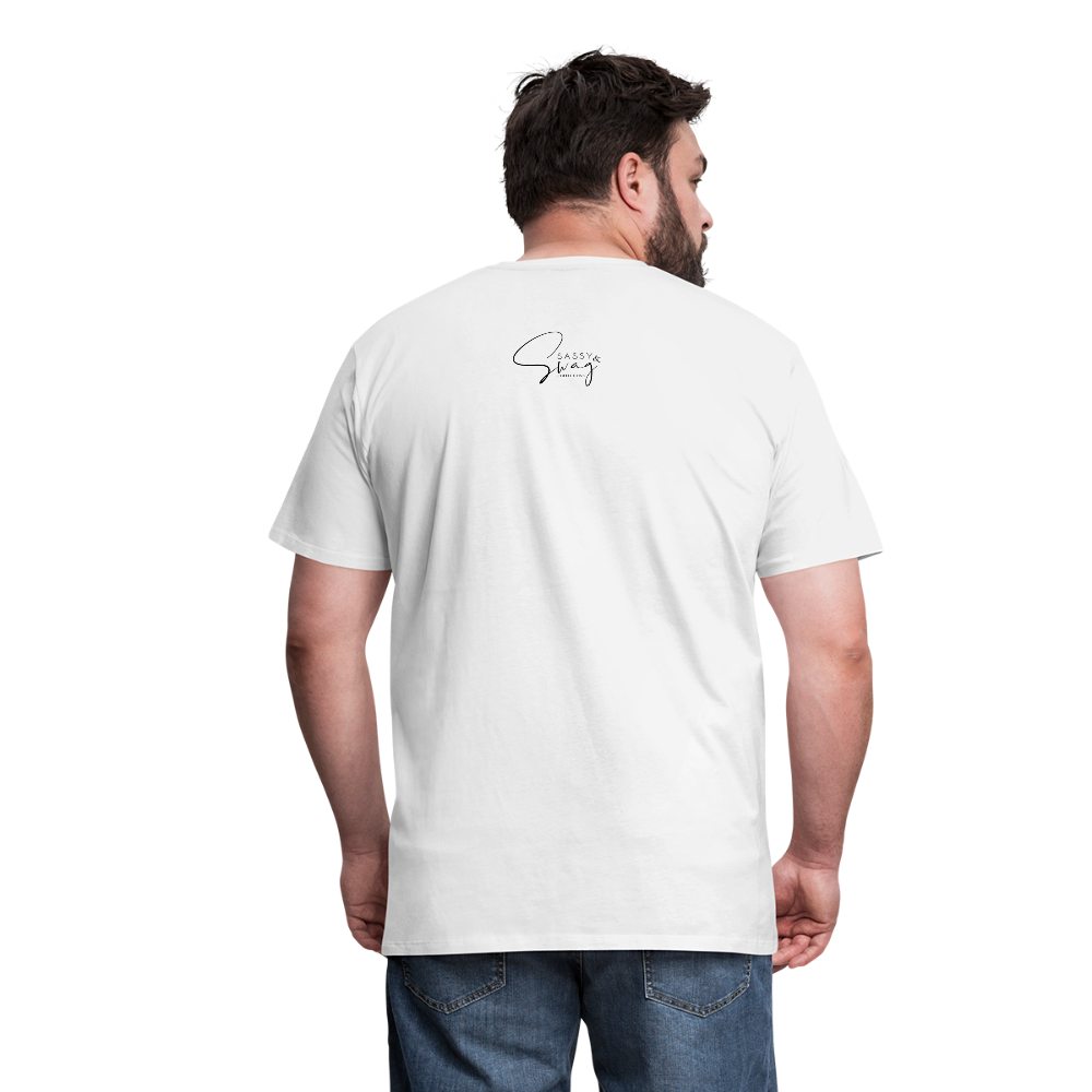 I'm the Apple of His Eye Men's Premium T-Shirt - white