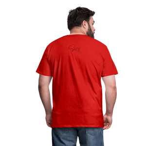 I'm the Apple of His Eye Men's Premium T-Shirt - red