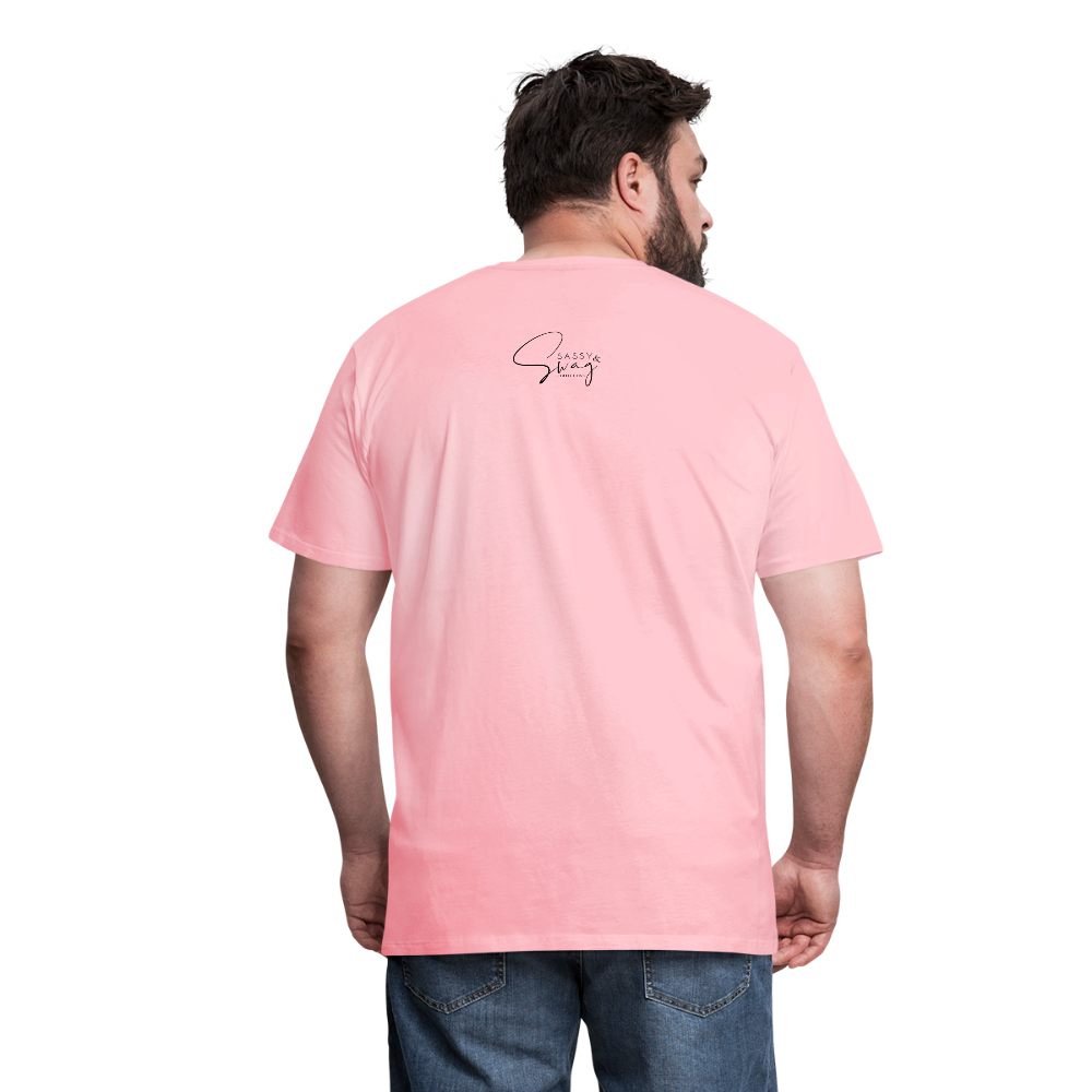 I'm the Apple of His Eye Men's Premium T-Shirt - pink