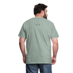 I'm the Apple of His Eye Men's Premium T-Shirt - steel green
