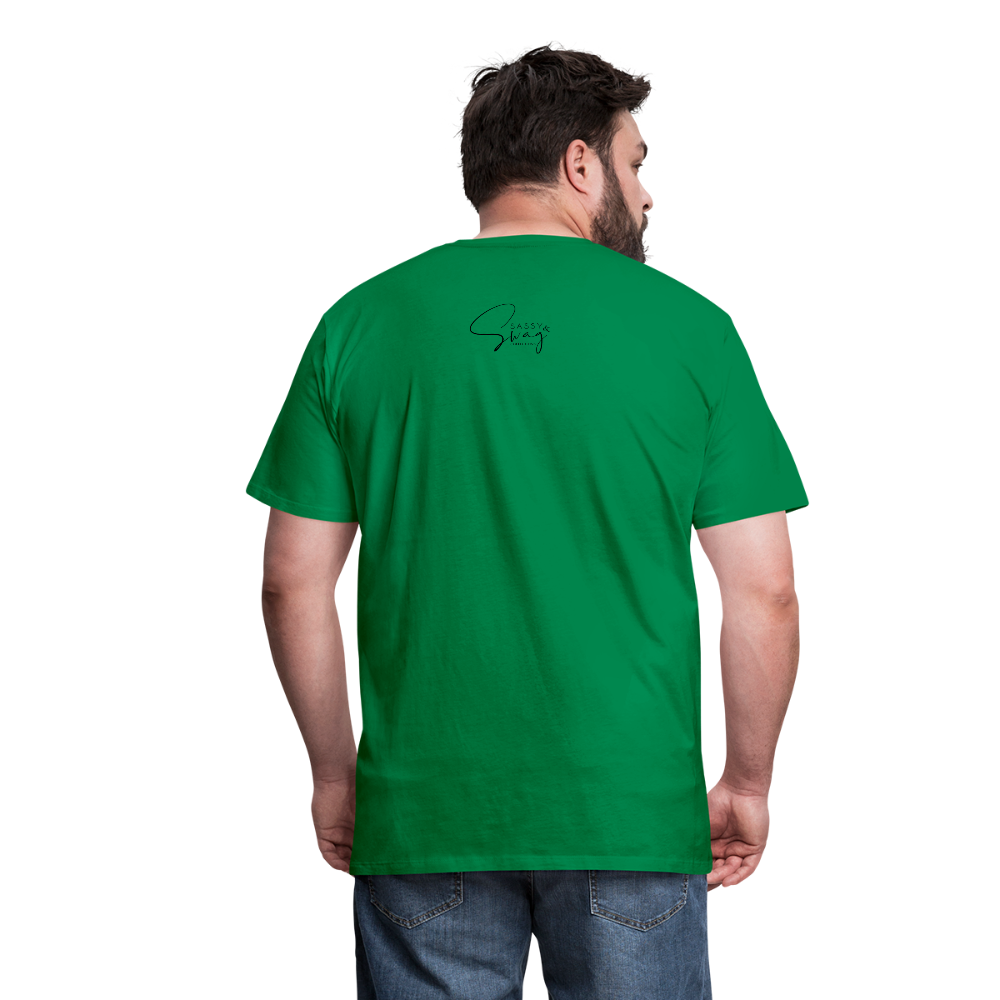 I'm the Apple of His Eye Men's Premium T-Shirt - kelly green