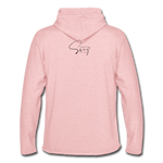A Royal Priesthood Unisex Lightweight Terry Hoodie - cream heather pink