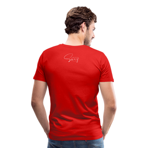 A Royal Priesthood Men's Premium T-Shirt - red