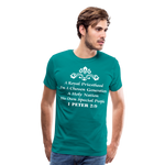 A Royal Priesthood Men's Premium T-Shirt - teal