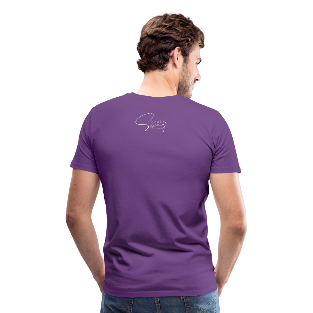 A Royal Priesthood Men's Premium T-Shirt - purple
