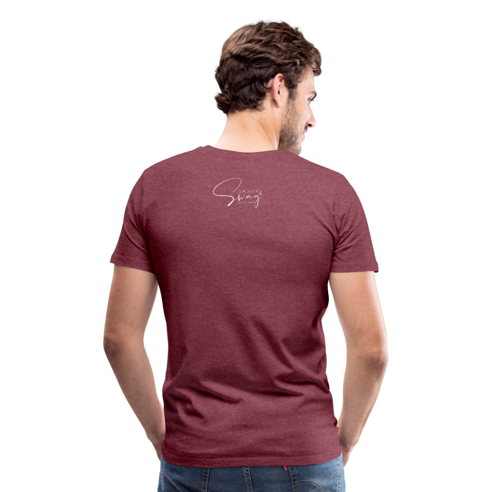 A Royal Priesthood Men's Premium T-Shirt - heather burgundy