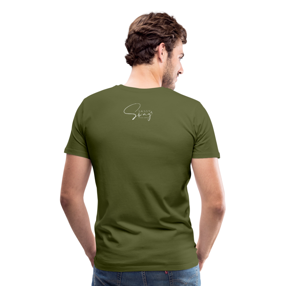 A Royal Priesthood Men's Premium T-Shirt - olive green
