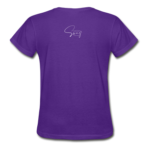 A Royal Priesthood Gildan Ultra Cotton Ladies T-Shirt - purple