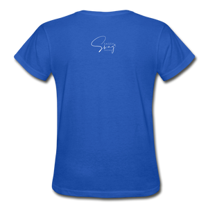 A Royal Priesthood Gildan Ultra Cotton Ladies T-Shirt - royal blue