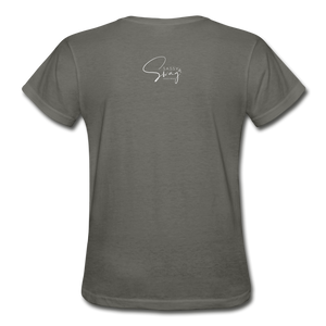 A Royal Priesthood Gildan Ultra Cotton Ladies T-Shirt - charcoal